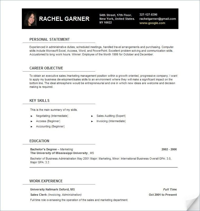 resume templates for openoffice free publisher templates free