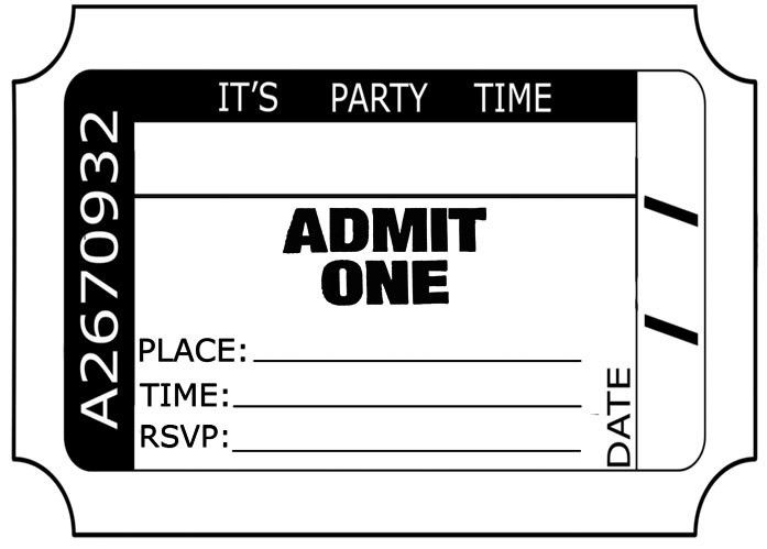 Ticket Clipart - Free Clip Art Images - FreeClipart.pw