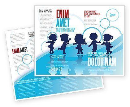 Little Children Brochure Template #07607 | Sponsorship Pkg ...