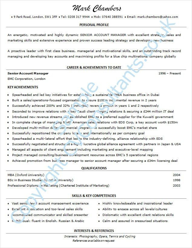 Examples Of Good Resumes. Samples Of Good Resumes Examples Of ...