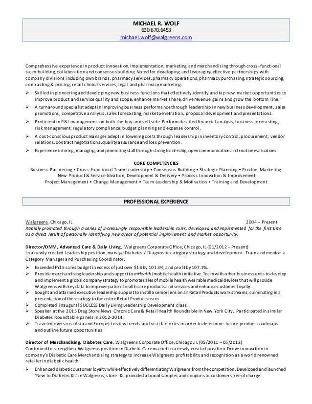 Michael WOLF Resume 10.20.15