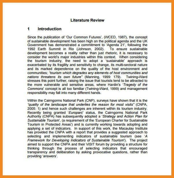 literature review example   art resume examples