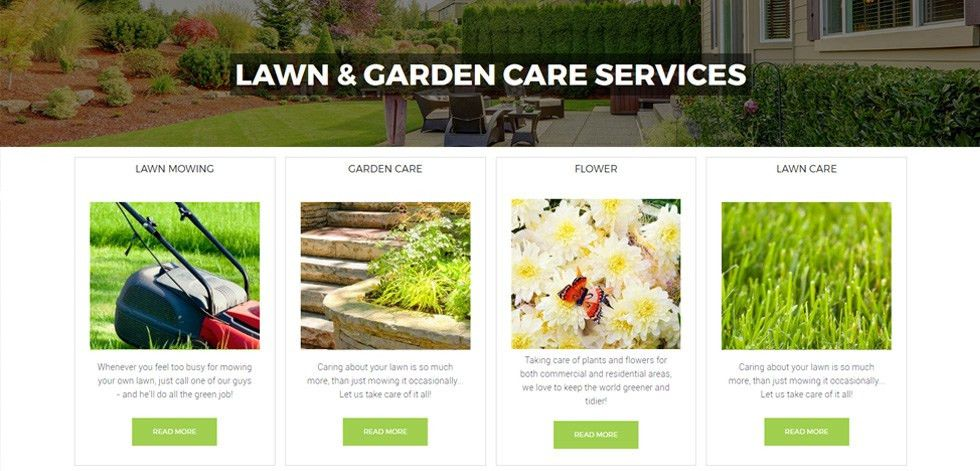 Lawn Care - Premium Responsive Lawn Mowing & Landscape WordPress Theme