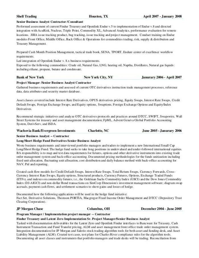 Oil Trader Cover Letter