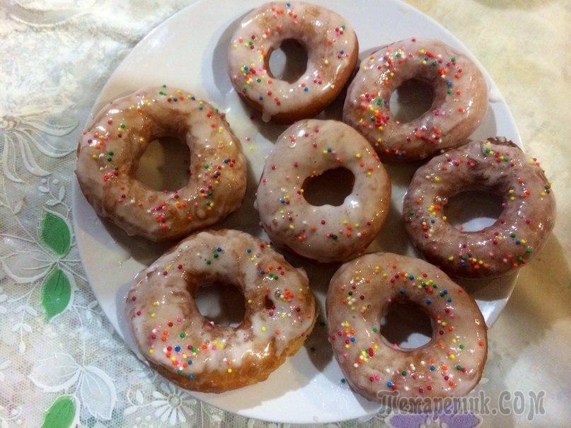 Рецепт простых пончиков в домашних условиях