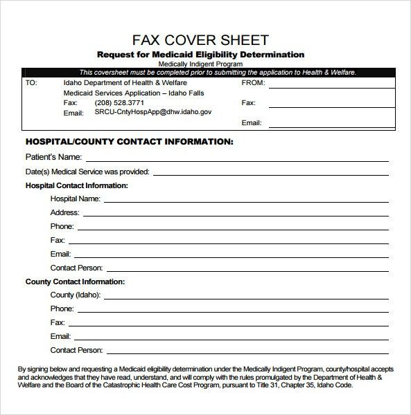 Sample Urgent Fax Cover Sheet - 6+ Documents in PDF