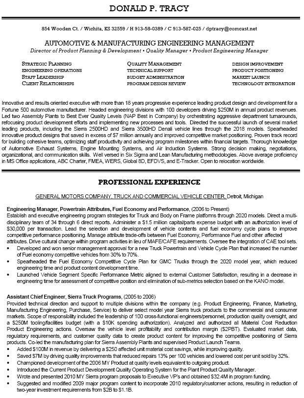 Product Engineer Sample Resume | haadyaooverbayresort.com