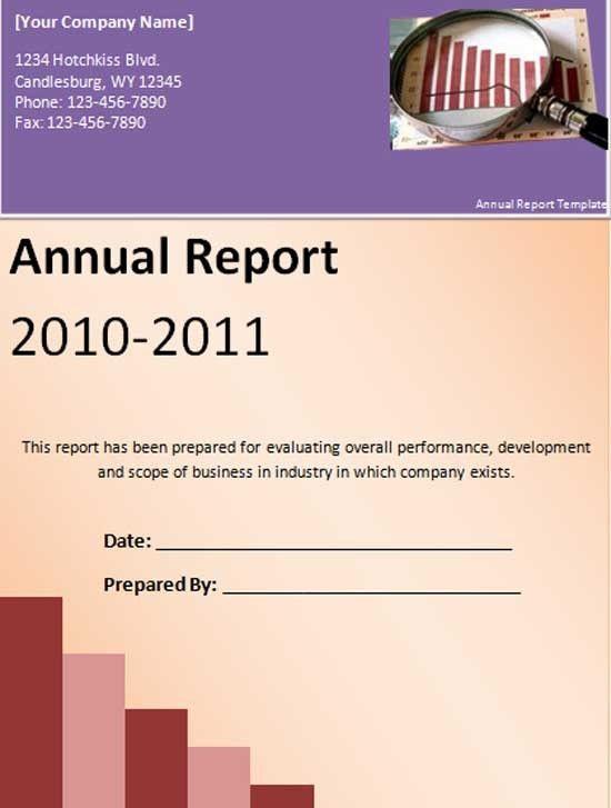 Annual Report Template | tristarhomecareinc