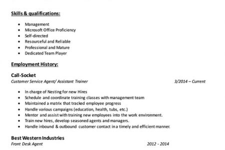 Imaging Specialist Resume Examples - Reentrycorps