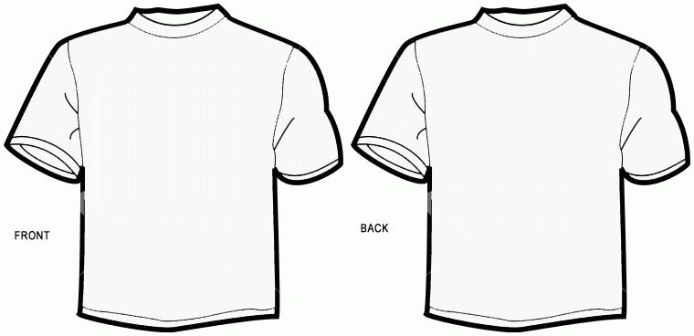 T Shirt Outline   Free Download Clip Art   Free Clip Art   on ...