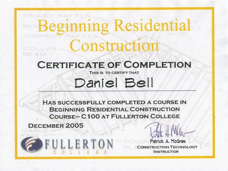 About Us | Daniel Bell Construction