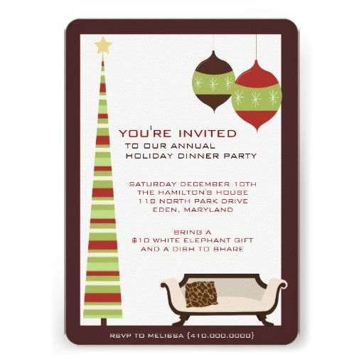 Brave Dinner Party Invitation Template At Minimalist Article Happy ...