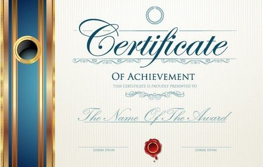 Modern certificate design free vector download (6,374 Free vector ...
