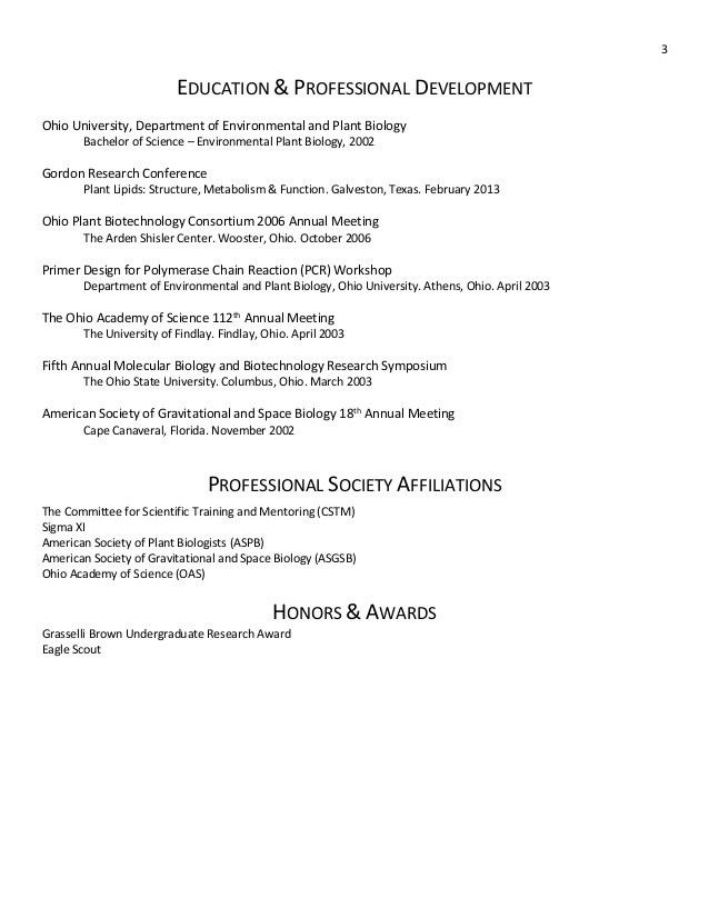 Plant Biotechnology Resume Java Plant Biotechnology Resume