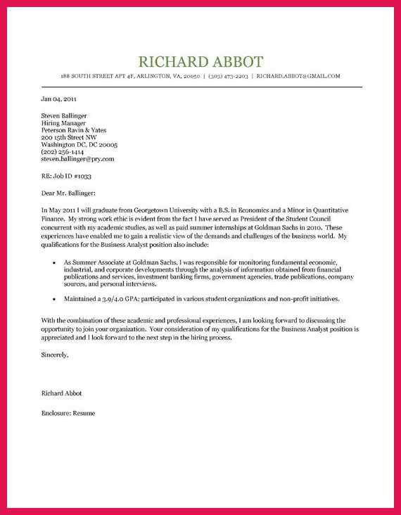 Student Cover Letter Sample - cv01.billybullock.us