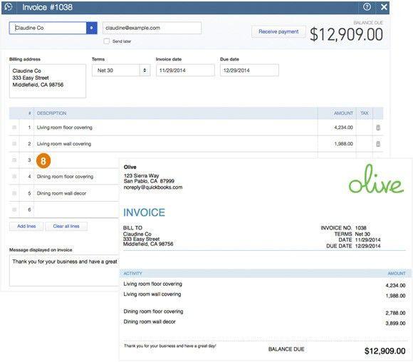 Quickbooks Online Invoice | free to do list