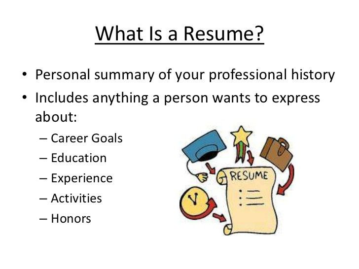 Beautiful Design What Is A Resume 16 How To Write Professional ...