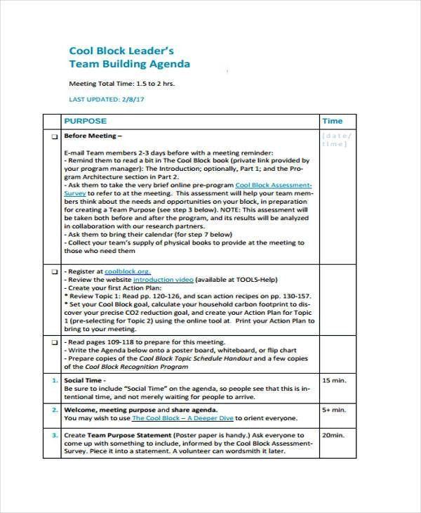 Cool Agenda Templates | Jobs.billybullock.us