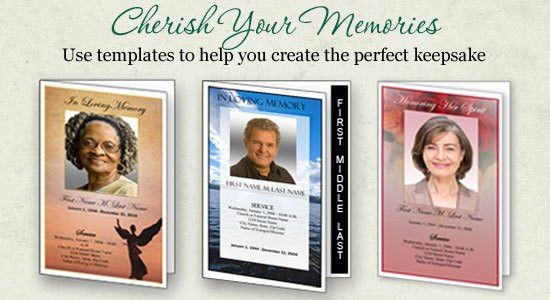 funeral program template Archives - Funeral Programs Blog