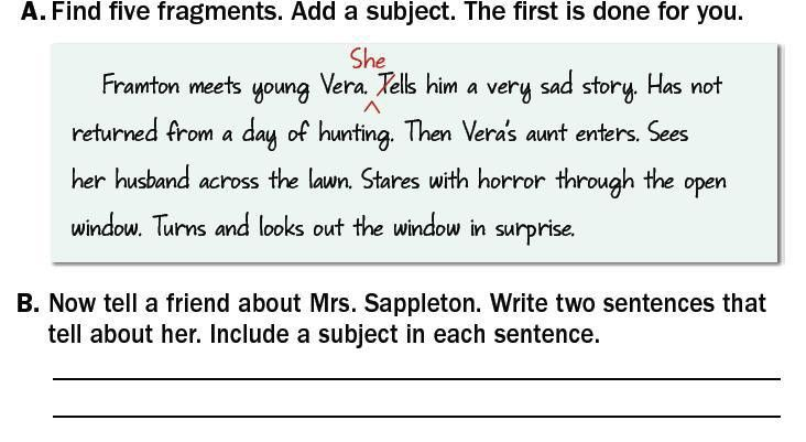 Fragment/Run On Sentences - Lessons - Tes Teach