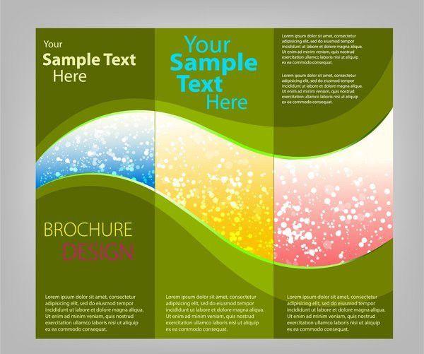3 Fold Brochure Template Free | Template Design
