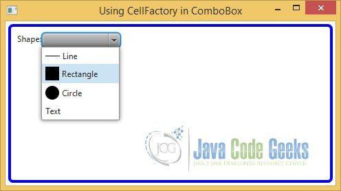 JavaFX Combobox Example | Examples Java Code Geeks - 2017