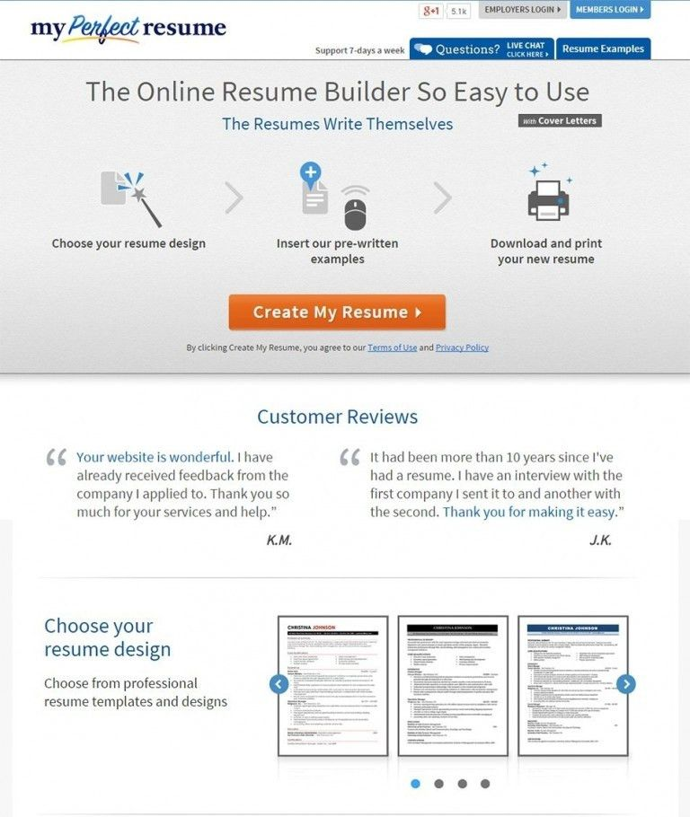 Completely Free Resume Templates. Absolutely Free Resume Builder ...