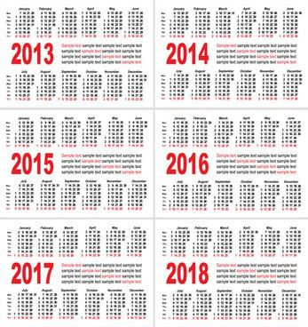 2016 calendar template free vector download (13,732 Free vector ...