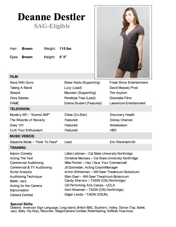 resume templates for dance teachers sample resume amp templates ...