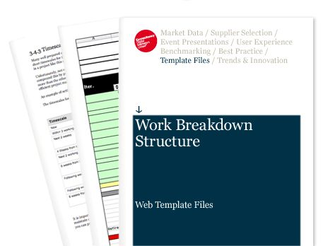 Work Breakdown Structure - Web Template Files | Econsultancy
