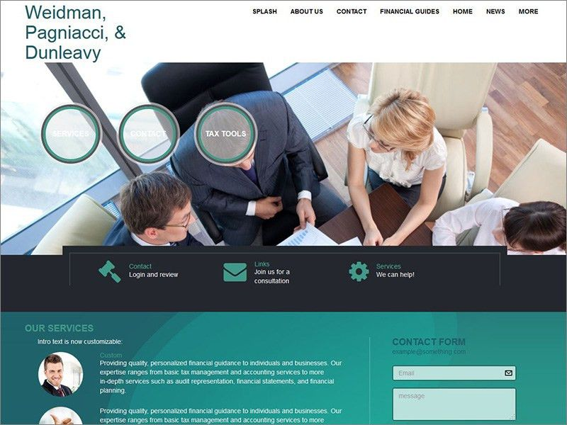 Websites for Accountants - Web Builder CS (formerly Emochila)