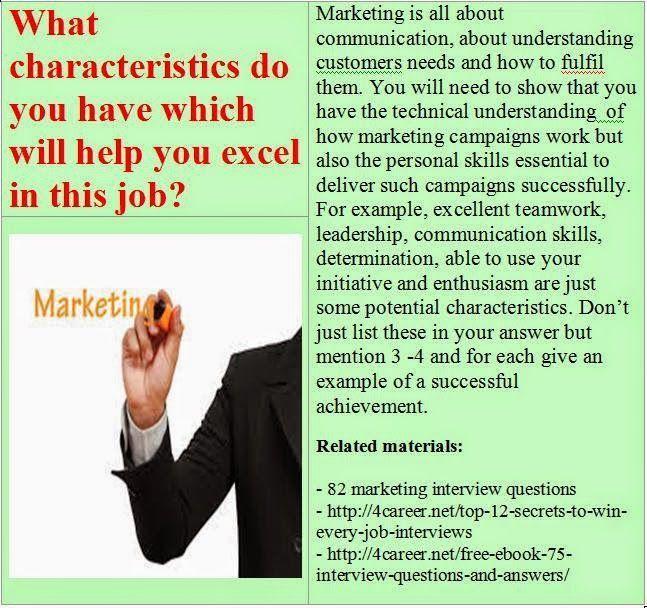 Best 25+ Marketing interview questions ideas on Pinterest | Jobs ...