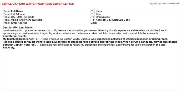 20 waitress resume sample job and resume template waitress duties ...