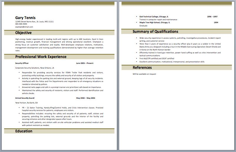 Warehouse Resume - Best Template Collection