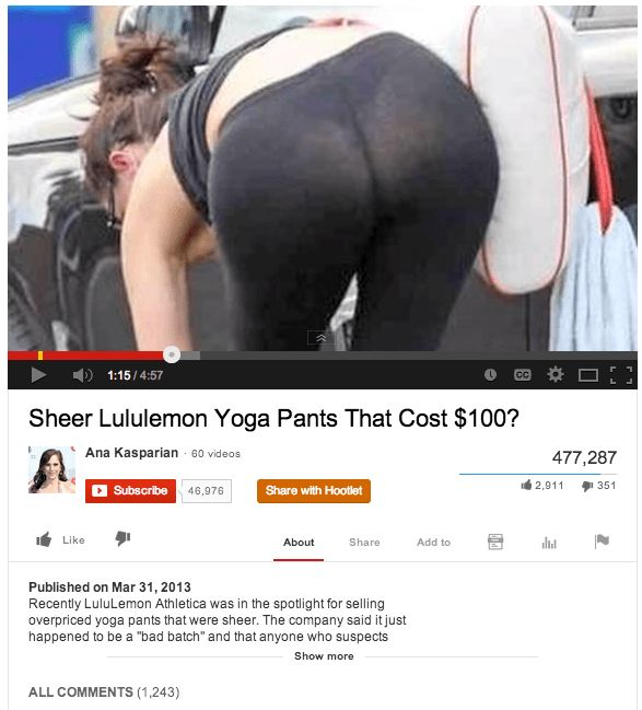 Lululemon's sheer yoga pants | Lululemon PR Crisis | Pinterest | Yoga