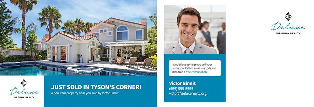 Real Estate Marketing Postcard Template: Free Download from Lob