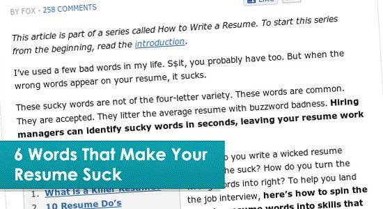 15 Helpful Resume Writing Tips Articles