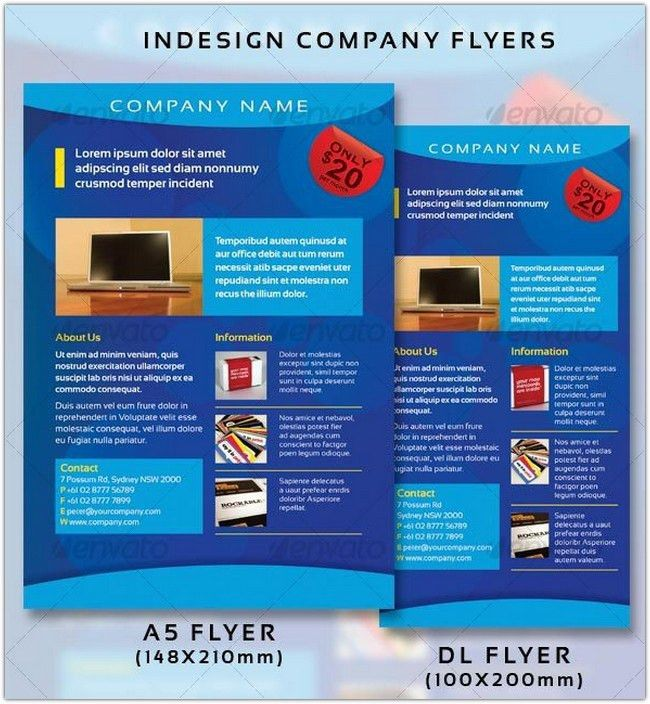 22+ Best Company Flyer PSD Templates - Web Creative All
