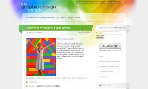 Freelance Graphic Design Sample Portfolio | Website Design