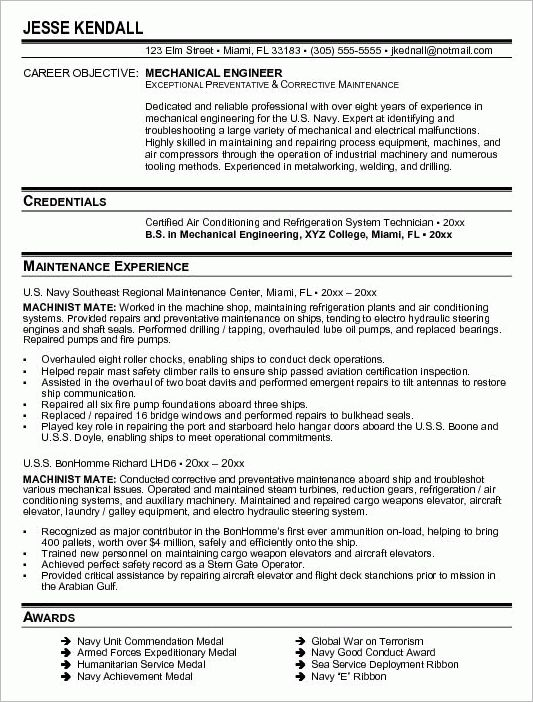 Download Refrigeration Design Engineer Sample Resume ...