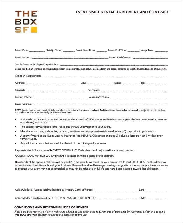Room Rental Agreement Form. Free Room Rental Agreement Template ...