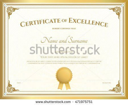 Certificate Stock Images, Royalty-Free Images & Vectors | Shutterstock