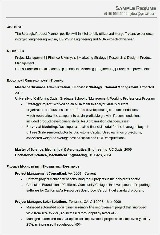 sample chronological resume format sample chronological resume - Sample Of Chronological Resume
