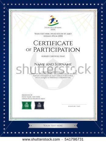 Football Certificate Stock Images, Royalty-Free Images & Vectors ...