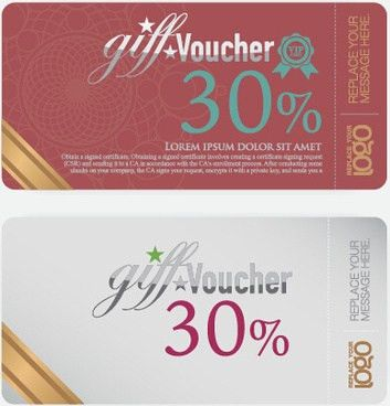 Vector voucher template free vector download (12,490 Free vector ...