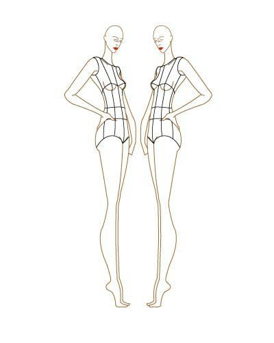 Fashion Sketch Templates | Fashion figures, Croquis and Fashion ...