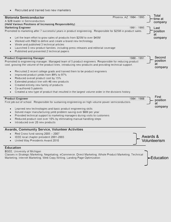 Resume Formats. Professional B&W Advanced Resume Templates ...