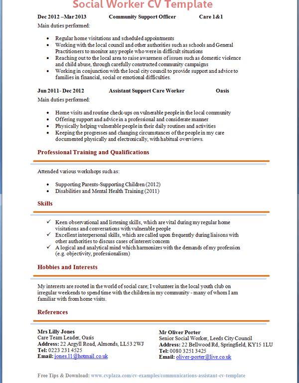 social work sample cover letter cover letter social work examples ...