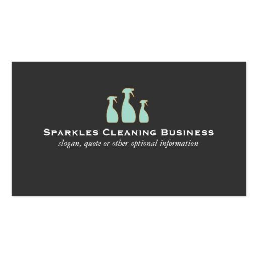 273 best Cleaning Business Cards images on Pinterest | Cleaning ...