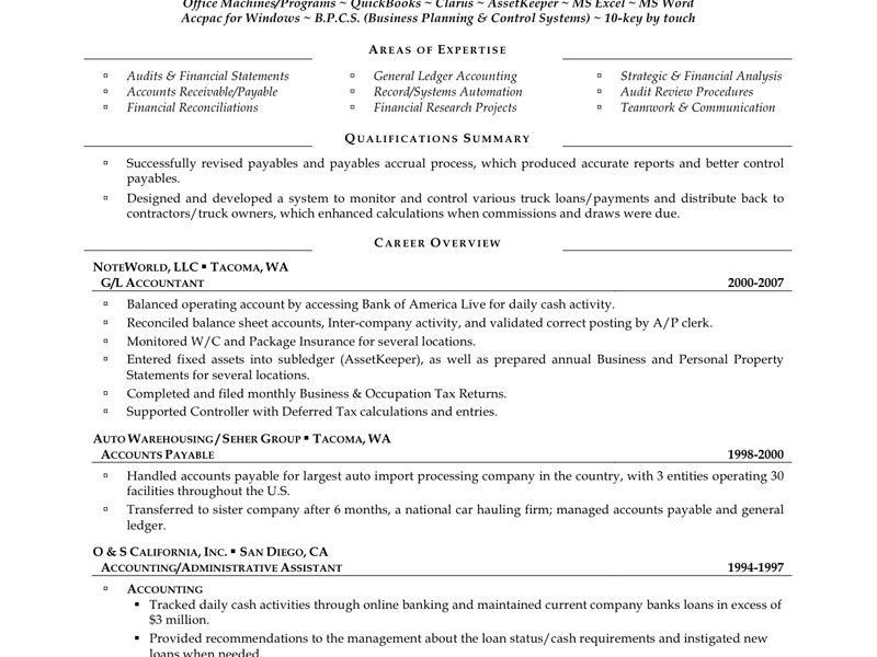 Incredible Staff Accountant Resume 12 Trendy Staff Accountant ...